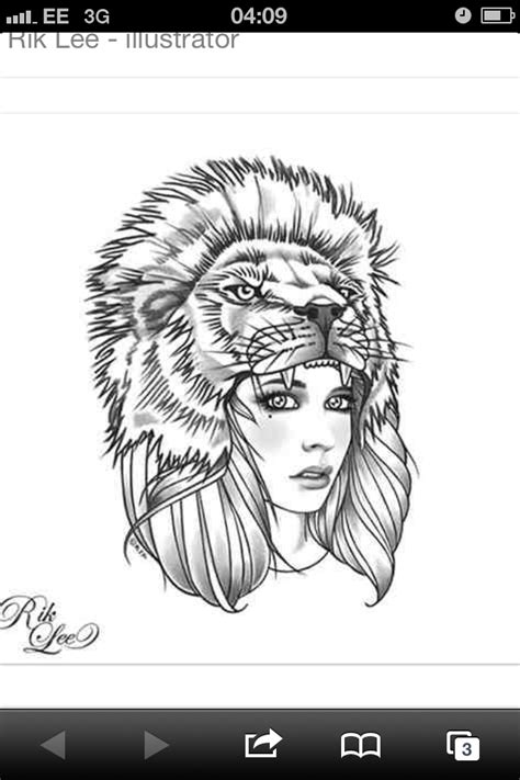 lion headdress tattoo headdress my next tattoos