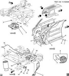 2005 Buick Rainier Air Suspension Buick Rainier Level System Automatic