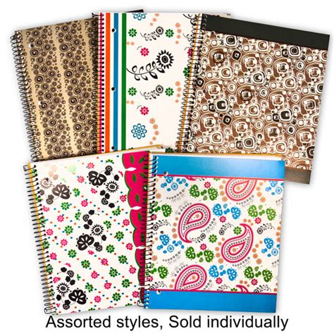 sectioned notebook creation series three section notebook assorted design