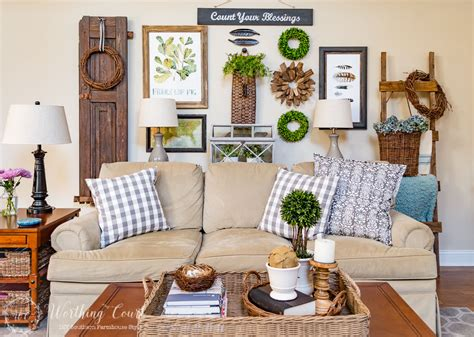 farmhouse decor 10 fanastic farmhouse style decor diy ideas work it wednesday the happy housie