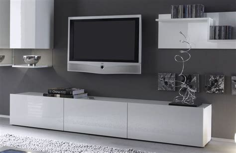 Banc Tv by Banc Tv Blanc Laqu Design Abibo