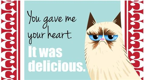 valentines grumpy cat s day cards of the grumpy cat 18 pics