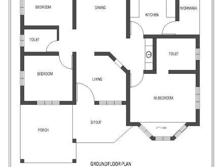 hobbit house floor plans single story open floor plans kerala single floor 4