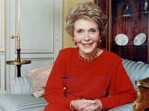 biography nancy reagan former first lady of united states nancy regan dies tv