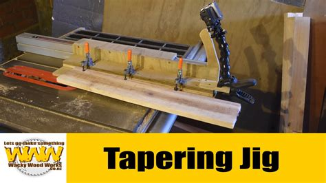 table saw jointer jig jointer jig for table saw the cuff wacky wood works