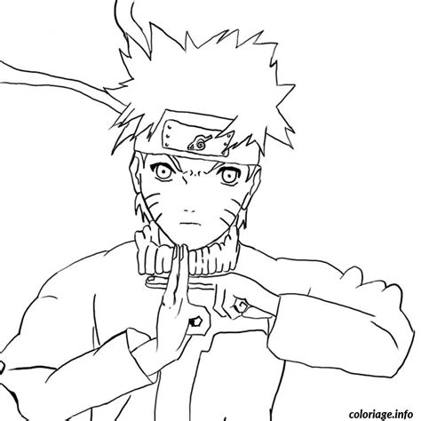 coloriage naruto dragon ball z jecolorie com
