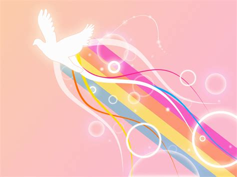 peace sign powerpoint templates blue objects free ppt dove of peace backgrounds presnetation ppt backgrounds
