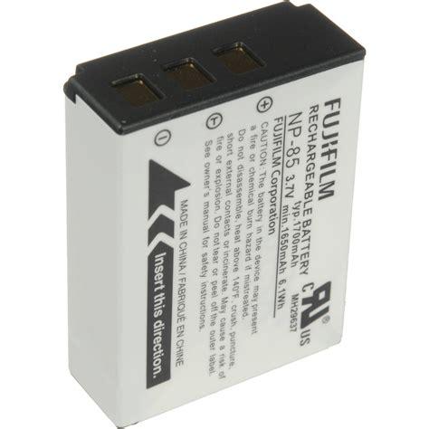 Baterai Fujifilm Np 85 fujifilm np 85 li ion battery pack 16226668 b h photo