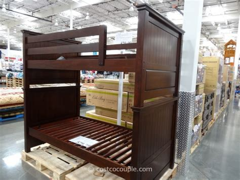 costco bunk bed bayside furnishings cole bay bunkbed