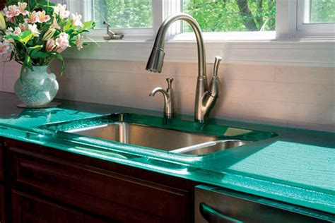 recycled kitchen countertops recycled glass countertop roselawnlutheran