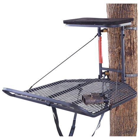 Hang On guide gear xl hang on tree stand 30 quot x 36 quot 177438 hang