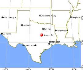 Waco Tx To Tx Waco Map