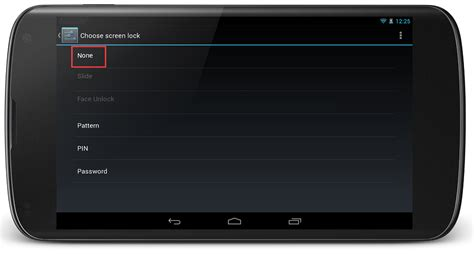 disable pattern lock android jelly bean disable pin screen lock when device boot up with surelock