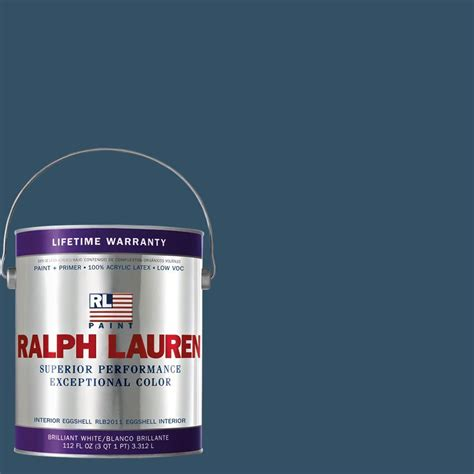 Interior Paint Home Depot Ralph 1 Gal Rue Royale Eggshell Interior Paint