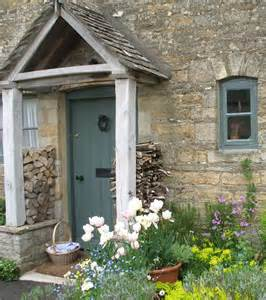 cottage porch doors and entrances