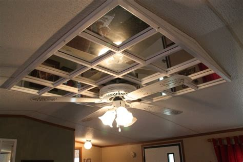Mounting A Ceiling Fan In Mobile Home Ceiling Tiles