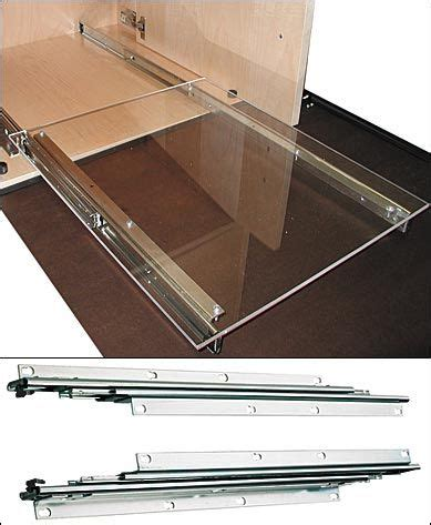 under cabinet drawer slides 17 best images about sliding drawer on pushing