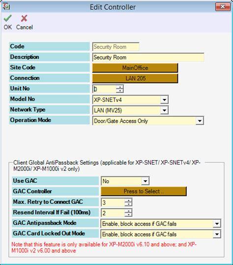 configure xp external access how to configure xp snet for door access microengine