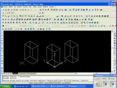 autocad 2007 tutorial in telugu autocad 2005 cortes youtube