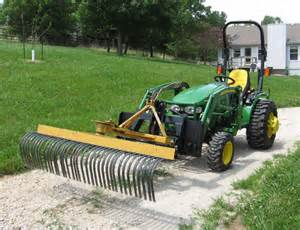 Tractor Landscape Rake Uk On Landscape Rake Outdoortheme