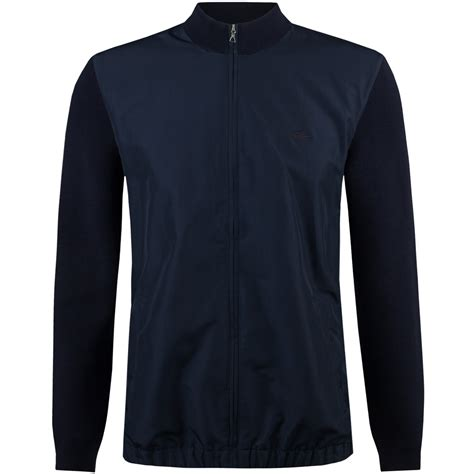 Lacoste Casual Navy lacoste casual elegance hybrid sweater navy blue