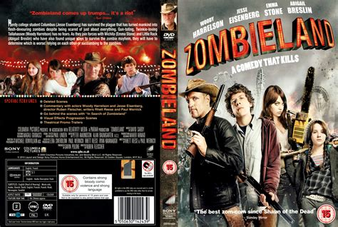 Cover Dvd zombieland 2009 r2 dvd cd label dvd cover front covers