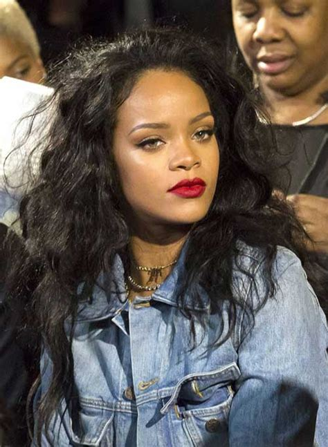 Rihanna Curly Hairstyles by 15 Rihanna Curly Hair Hairstyles Haircuts 2016