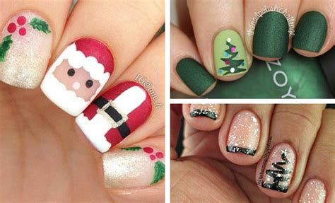 christmas decorated finger nails 31 nail design ideas stayglam