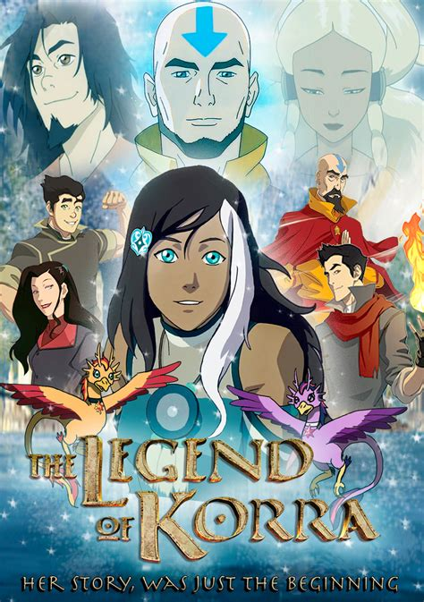 the legend of korra a new of fairytale by