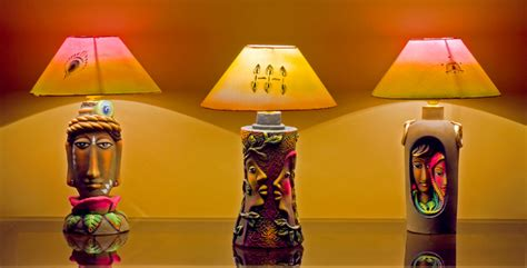 Home Interior Wall Hangings Lamps And Lamp Shades Artistic Lamp Shades Alochhaya
