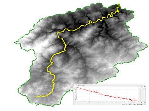 qgis dem tutorial river profiles in qgis geogeek
