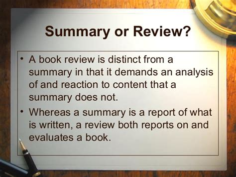 how to write a summary for a book report how to write a book review