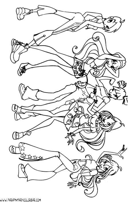 imagenes para colorear winx club dibujos de winx club para colorear imagui