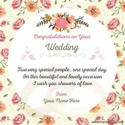 wedding card notes wedding card messages and wishes card world