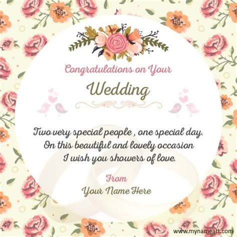 wedding card greetings wording wedding card messages and wishes card world