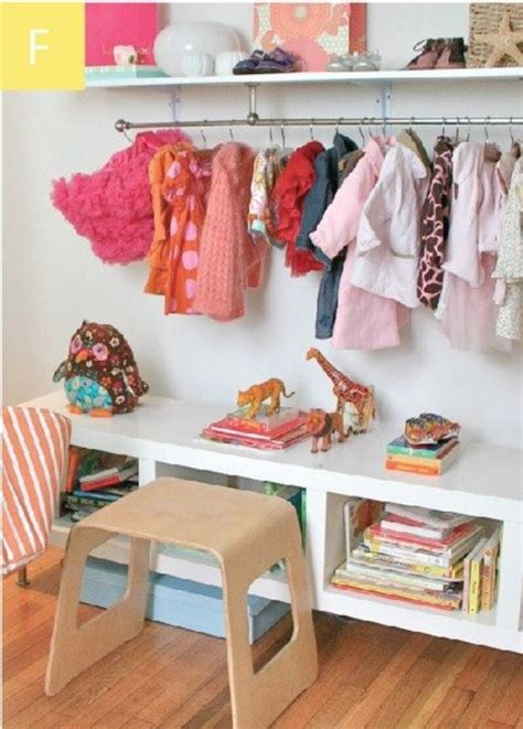 no closet solution 23 brilliant storage solutions for kids rooms without a