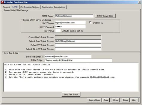 smtp test email smtp server configuration troubleshooting