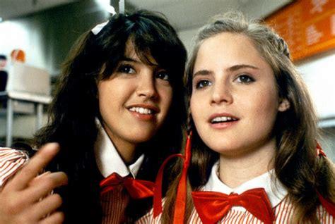 jennifer jason leigh joven fashion film 1980 s teen films the 1990 s