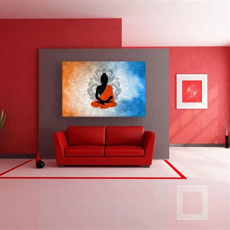 room canvas canvas painting beautiful buddha modern wall painting for living room bedroom office