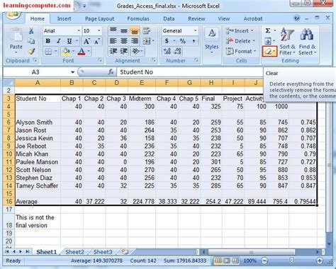 excel 2010 styles and themes online pc learning microsoft excel 2007 tutorial home tab softknowledge s