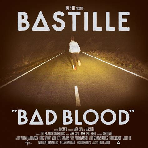 Bastille Bad Blood brandon dodsworth a2 media research into existing album covers and digipaks of my genre rock
