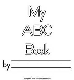 Printable Alphabet Book Template by Abc Coloring Pages Primarygames Free Printable
