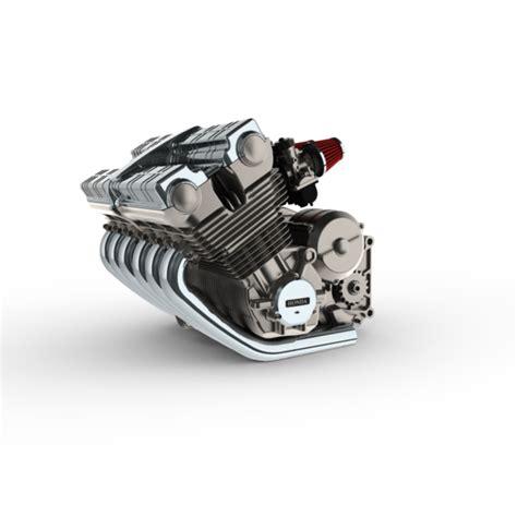 honda cus all challenge questions 1000 cbx engine step iges 3d cad model grabcad