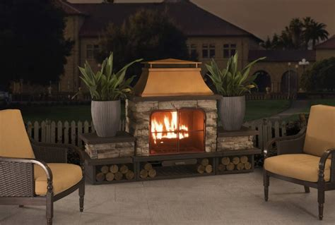 best fireplaces best outdoor fireplace kits thrifty outdoors manthrifty