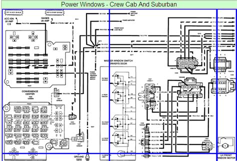 2001 silverado power window wiring diagram 42 wiring