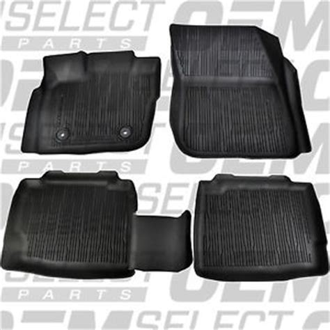 Ford Fusion All Weather Floor Mats by Oem New 13 16 Ford Fusion Tray Floor Mat Kit Black Rubber All Weather Catch All Ebay
