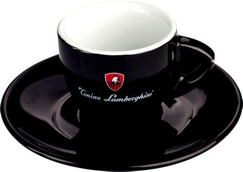 Tonino Lamborghini Espresso Lamborghini Tonino Espresso Tasse Schwarz Caffe