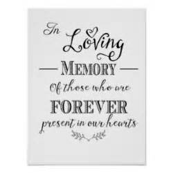 memory poem template in loving memory gifts on zazzle