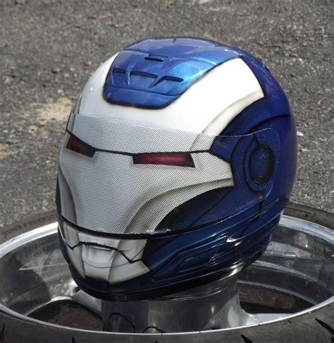 Handmade Motorcycle Helmets - iron custom painted suzuki gsx r hayabusa scheme