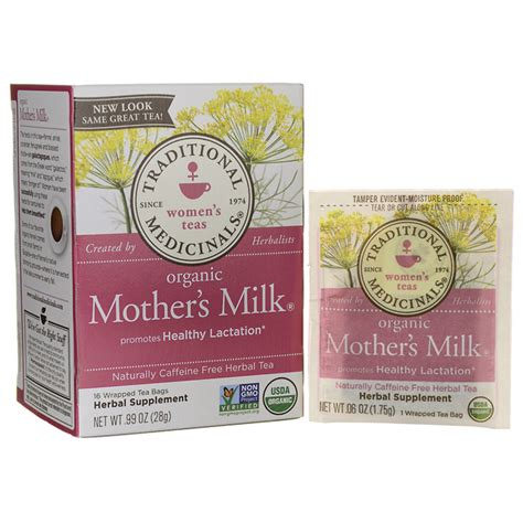 Traditionals Medicinals Organic Mothers Milk Tea Womans Tea traditional medicinals organic s milk tea 16 bag s